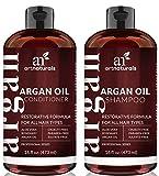 ArtNaturals Organic Marokkanisches Arganöl Shampoo und Conditioner Set (2 x 16 Unzen) - Sulfatfrei...