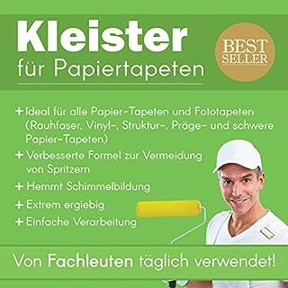 Tapetenkleister Papier Tapete Kleister Fototapete 50g (ca. 7-8 m2) - Ideal für Fototapeten, optimales & praktisches Dosieren 1 x 50g Päckchen