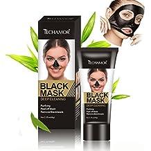 Oyedens Carbón de limpieza profunda Purificante Peel-Off Black Facial máscara Blackhead removedor 60ML