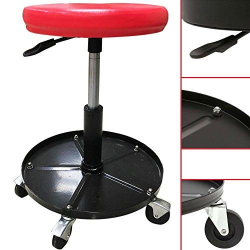 Atelier Tabouret réglable en hauteur siège rotatif pour atelier atelier Chaise Tabouret de travail