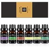 ZeLight Aceite Essenciales para Difusor,100% Puro Natural Aromaterapia Aceite Aromático para Humidificador y Difusor 6 * 10ml