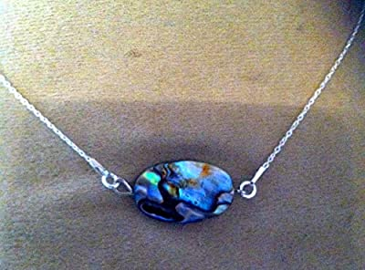 collier abalone argent 925