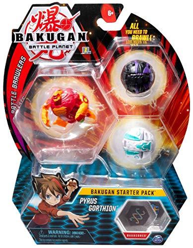 BAKUGAN Starter Pack - Pack Pyrus Gorthion