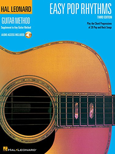 Easy Pop Rhythms: Correlates with Book 1 [With Access Code] (Hal Leonard Guitar Method)