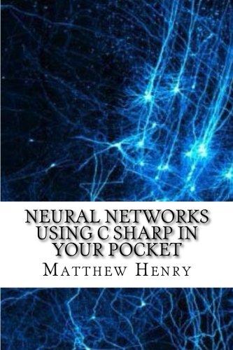 Neural Networks Using C Sharp In Your Pocket - Sharp Pocket Computer