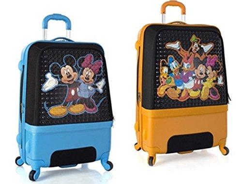 Sets de Bagages, valises - Première Classe Valise Rigide Set 2 pièces - Heys Disney Clubhouse Trolley avec 4 Roues Mèdias + Trolley avec 4 Roues Grand