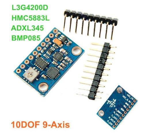 10DOF 9-axis Attitude Indicator L3G4200D ADXL345 HMC5883L