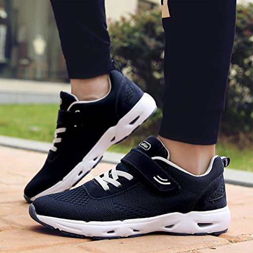Baskets Running Chaussures de Course Sports Fitness Gym Athlétique Homme Femme Sneakers Bleu