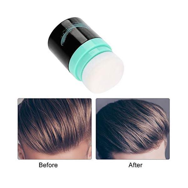 Filfeel Polvo para el cabello Estilo de cabello natural para hombres y mujeres profesionales, 8.5 g