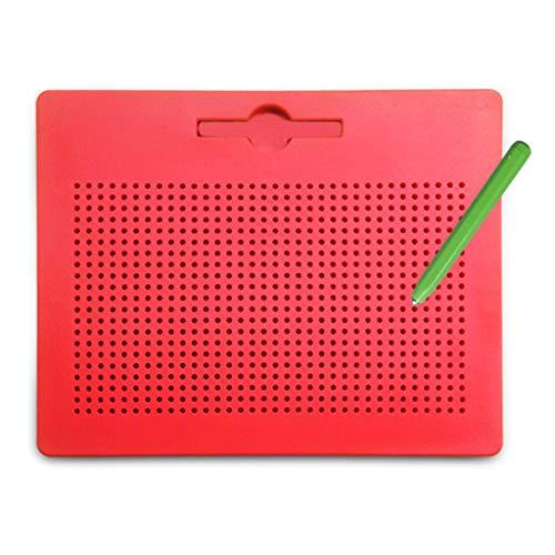 Jiay Clipboard, magnetisch, Zeichnung, Kugelschreiber, Perlen, Magnet, Komprimiertes Lernbuch, Graffiti-Pad Spielzeug für Kinder, Geschenk - Buchstaben Board Im Freien