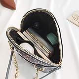 QWA Sacs à main New Lady avec paillettes Sac à bandoulière Mode minimaliste Casual...