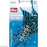 Prym - Cierre con Forma de trébol para Bikini, 15mm, Transparente