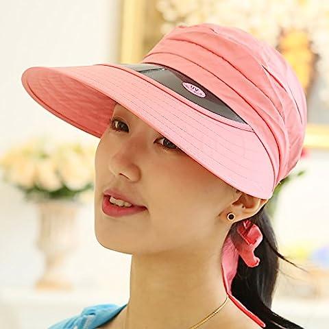 Summer, Ladies, Hats, Empty Tops, Cycling, Sun Hats, Outdoor,Watermelon Red (Baby In Watermelon Kostüm)