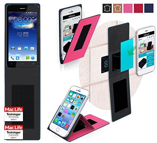 reboon Hülle für Asus PadFone Infinity Tasche Cover Case Bumper | Pink | Testsieger