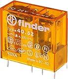 Finder 40.52.8.024.0000 Steck/Printrelais 24 V AC 2 W 8 A