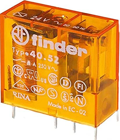 Finder Steck/Printrelais 230 V AC, 2 W, 8 A, 1 Stück, 40.52.8.230.0000