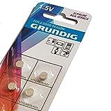 Grundig 10x AG4 BATTERIEN KNOPFZELLEN/377/LR66 Uhren Batterie Neu & OVP