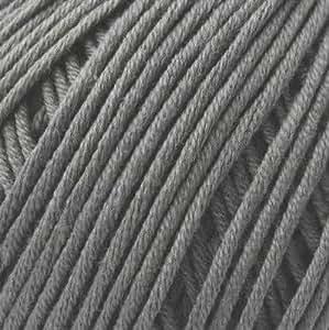 DMC Natura pure Fils de coton-N10.Violet Aswan Gris
