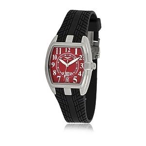 Sandoz 81254-07 – Reloj Fernando Alonso Señora Negro/Rojo