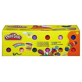 Hasbro Play-Doh- Play-Doh Pasta da Modellare, 24 vasetti, 20383F03