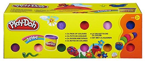 Play-Doh Hasbro 20383F03 Kollektion mit 24 Farben, Knete -