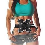 Bauchmuskel Elektrostimulation Stimulator ABS Trainer EMS Bauch-Training Body Toning Fitness Muskelaufbau Gürtel ABS Fit Gewicht Muskel Toner für Herren Damen,Massagegerät,Muskeltraining Machine
