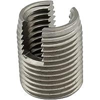 Gewindeeinsätze ( selbstschneidend ) mit Schneidschlitz - M12 - ( 2 Stück ) - aus rostfreiem Edelstahl A1 (VA) - NIRO - SC9058 | SC-Normteile®