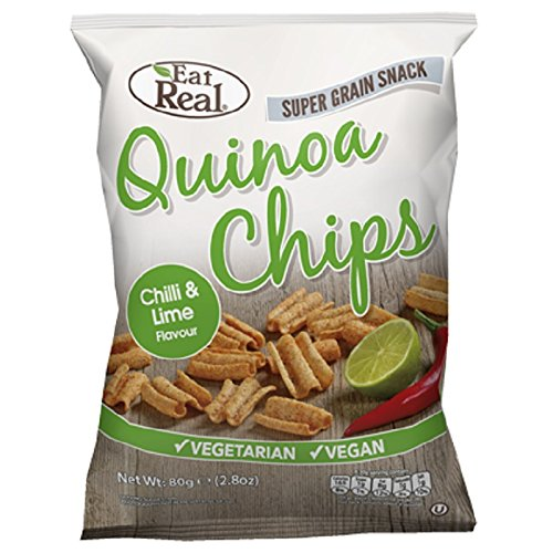 Eat Real - Quinoa Chips - Chilli & Lime - 80g