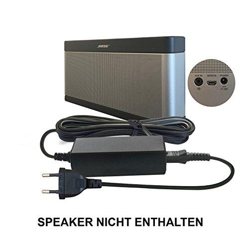 ABC Products® Ersatz Bose Akku Ladegerät, Netzteil, Netzadapter, Netzanschluss 17V - 20V, (17 - 20 Volt) für SoundLink I, II, III, 1, 2, 3 Bluetooth Lautsprecher / Speaker etc (1 3 Bose 2)