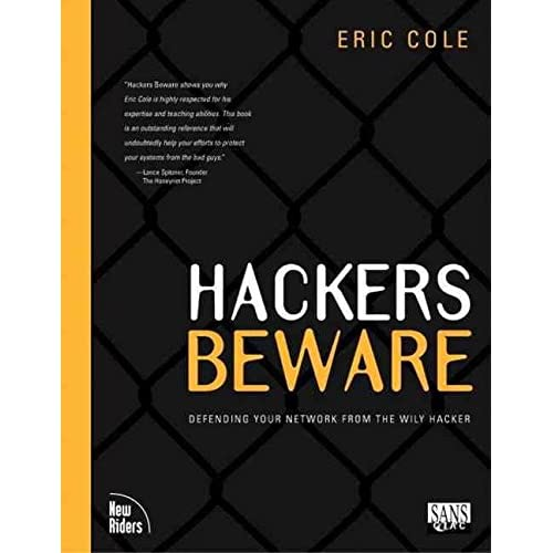 [(Hackers Beware)] [By (author) Eric Cole] published on (August, 2001)