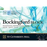 Bockingford Wc Bloque 140 libras Cp 10X14 Blanca