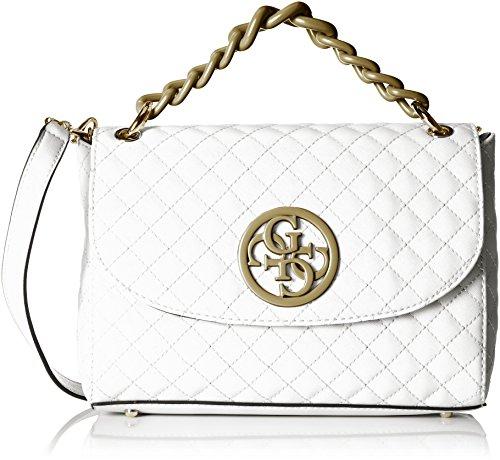 Guess Damen Bags Hobo Shopper, Mehrfarbig (Snow Multi), 5.5x18x28 centimeters