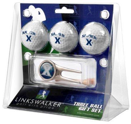 xavier-musketeers-xu-ncaa-3-ball-gift-pack-cap-tool-by-linkswalker