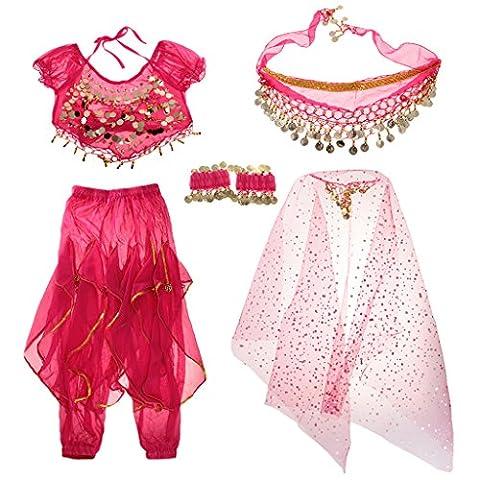 Halloween Costumes De Bollywood Halloween Costume - MagiDeal Set Costume de Danse Orientale Top