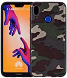 Favory Camouflage Design Silikon Case Premium TPU Hülle für Huawei P20 Lite Tasche Schutzhülle Cover Shop