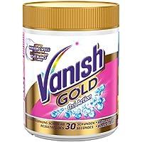 Vanish GOLD Oxi Action für Weißes Pulver, Wäsche-Weiss und Fleckenentferner, 1er Pack (1 x 500 g)