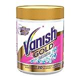 Vanish GOLD Oxi Action für Weißes Pulver, Wäsche-Weiss und Fleckenentferner, 1er Pack (1 x 500g)