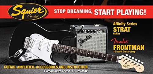 fender-squier-affinity-strat-pack-black-inc-frontman-10-g-amp-import-uk