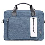 Yopin Fabric Computer Bag Briefcase Sleeve Case for Apple iPad Pro and Laptop/Notebook / Laptop/MacBook Pro / 13.3 inch MacBook Air - Blue