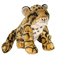 Wild Republic Clouded Leopard Plush Soft Toy, Cuddlekins Cuddly Toys, Gifts for Kids 30 cm
