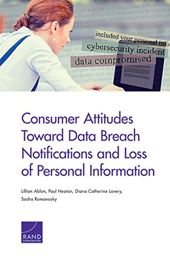 Consumer Attitudes Toward Data Breach Notifications and Loss of Personal Information (English Edition)