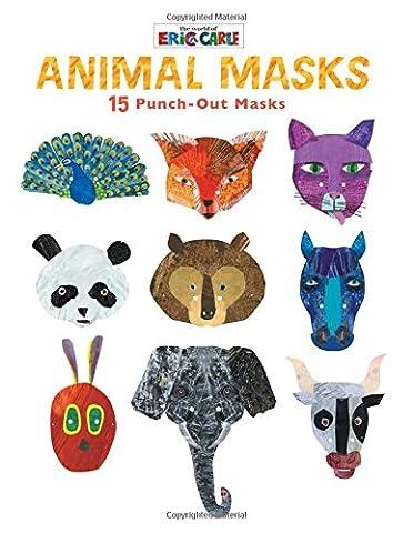 Animal Masks: 15 Punch-out Masks