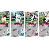Advantix ® Spot On per cani oltre 10 Kg fino a 25 Kg - 4 pipette da 2.5 ml - Antiparassitario per Zecche Pulci e Pidocchi - bay - amazon.it