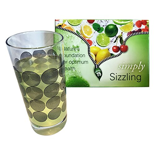 Sizzling Bio-Available Plant Derived 75 Minerals Lemon-Lime Flavour Single Tube