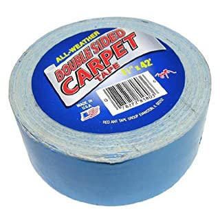 Double Sided Carpet Tape 1-1/2 x 42 Feet Long. by American Science & Surplus