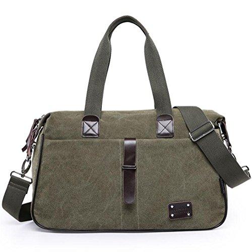Wmshpeds Gli uomini borsa di tela multi-funzione borsa a tracolla Sport Messenger Bag borsa esterna D