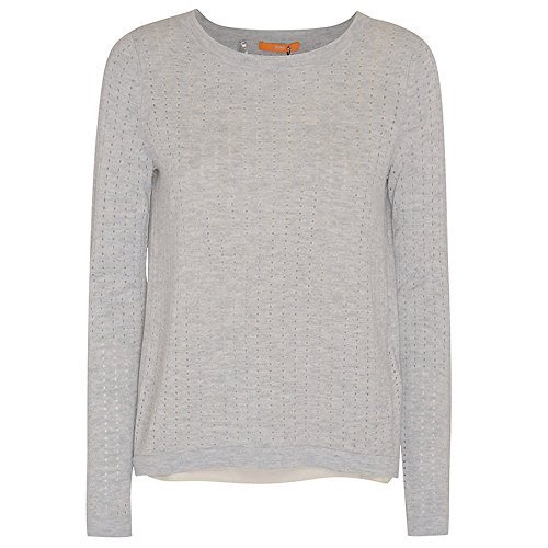 BOSS ORANGE Strickpullover Ivettah 50298806 Damen, Anthrazit, XS