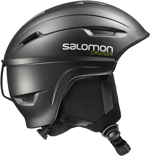 Salomon, Unisex Allround-Ski- und Snowboardhelm, EPS 4D, Gr. S, Kopfumfang 53-56 cm, CRUISER 4D, Schwarz, L39035100