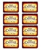 DALAN Castile Beauty Soap - Cocoa Butter (Pack Of 8)