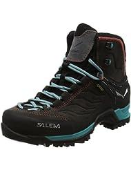 Salewa WS MTN Trainer Mid GTX, Chaussures de Trekking et randonnée Femme